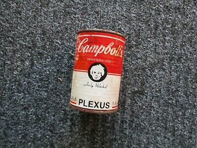 Warhol Actual Campboll's Soup Can