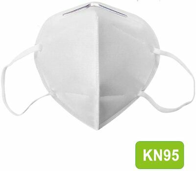 20pcs KN95 Disposable Face Mask Adult Particulate Protective EarLoop Mouth Cover