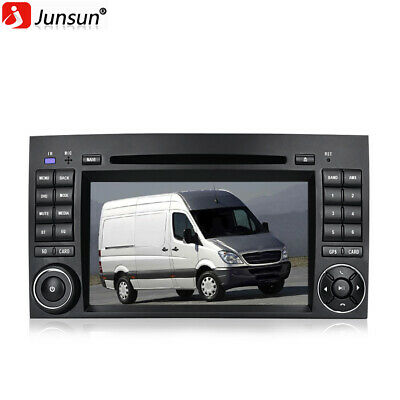 "7"" Autoradio 2 Din GPS Für Mercedes Benz B200 Sprinter W245 DVD CD SWC BT Navi"