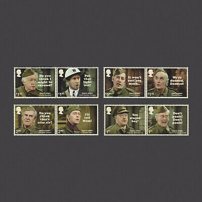 2018 Dad's Army Mint Stamp Set
