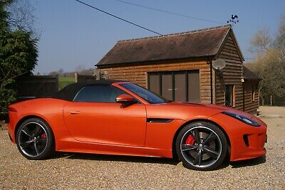 Stunning Jaguar F Type 3.0 S Convertible 19000 miles Jaguar Dealer history Mint