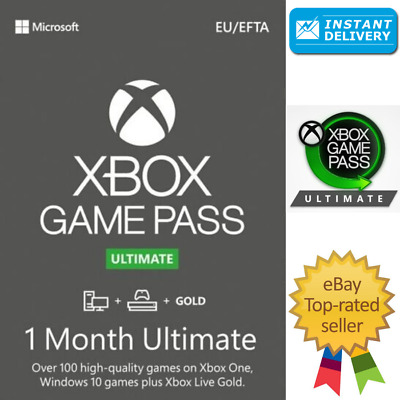 Xbox Game Pass Ultimate + Live Gold - 1 Month Keys - Global - INSTAN - Xbox one