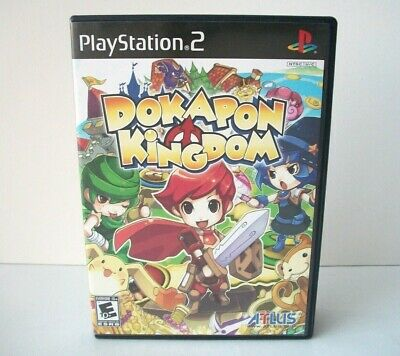 Dokapon Kingdom Case Artwork Only NO GAME Sony PlayStation 2 PS2 Replacement Box