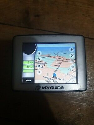 My Guide 3100 GO sat nav touch screen satellite navigation portable