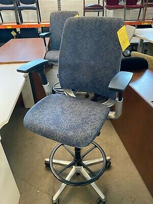 DRAFTING CHAIR/STOOL by STEELCASE AMIA *FULLY LOADED*