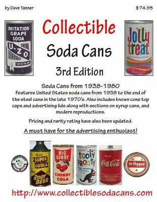 Collectible Soda Cans 3rd Edition (2020) NEW