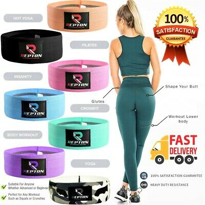 Fabric Resistance Bands Booty Bands Leg Squat Hip Circle Glute Rotation Non Slip