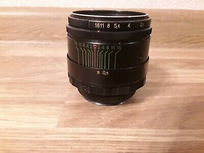 Helios 44-2 58 mm f/2 M42 Boke Lens for Pentax, Zenit. EXCELLENT