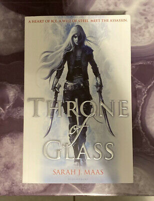 Throne Of Glass UK Edition Books 1-3