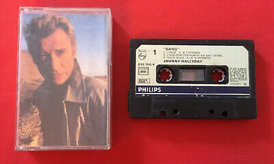 Johnny Hallyday Gang 8307564 Cassette Audio K7 Etat Correct
