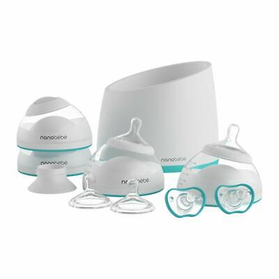 Nanobebe Bottle Newborn Feeding Starter Kit Set for Breast Milk BPA Free