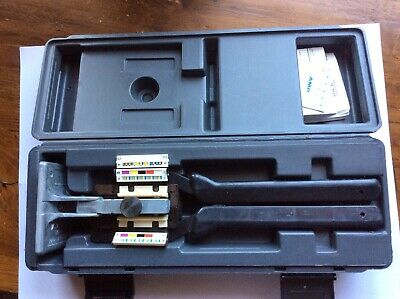 ~AMP MI-1 229378-1 Butterfly 50 Pin Crimper Crimp Tool & Case