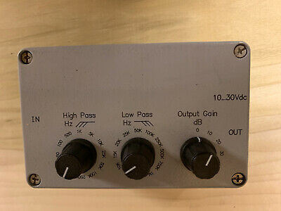 Teledyne Reson Pre-amplifier VP2000 EC6081