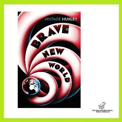 Brave New World By Aldous Huxley Paperback Book FAST FREE SHIPPING NEW