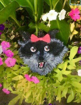 Rose Raccoon Sculpturefrom The Curious Creations of Christine McConnell