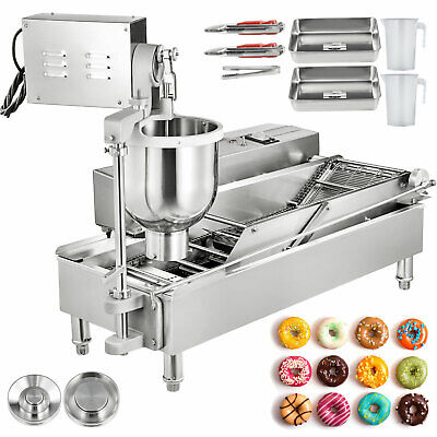 Automatic Donut Maker Machine Automatic Donut Maker 2-Row Commercial Donut Maker