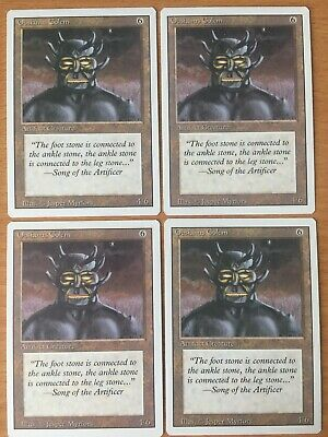 MTG x4 Ornithopter Playset Revised 3rd Edition Magic Artifact Creature