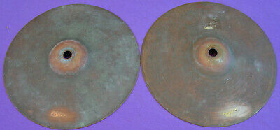 "Very Early 1910s LUDWIG & LUDWIG pair of 7"" cymbals"