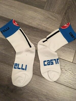New Pink Rosso Corsa Cycling Socks Size 7-13