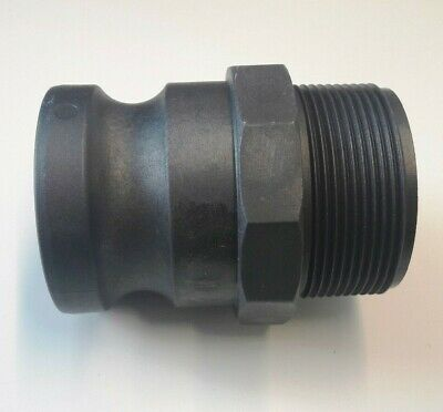 Camlock Coupling Type F Male Thread Fitting Polypropylene Cam & Groove