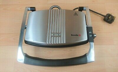 Breville VST025 Sandwich Press - Stainless Steel