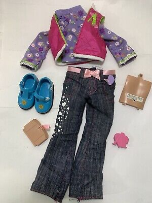 """2006 Playmates Amazing Allysen 20"""" Interactive Doll Clothes Outfit Shoes Battery"""