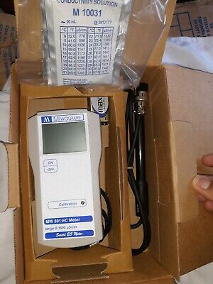 Milwaukee MW301 EC Electrical Conductivity Tester, Water Meter