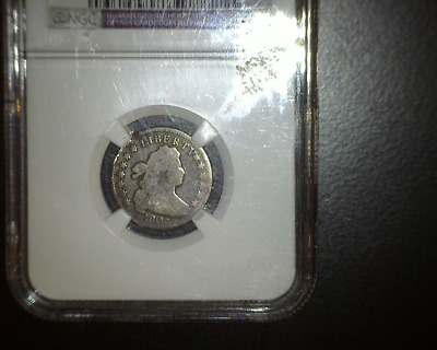 1805 5 BERRIES BUST DIME JR-1 - NGC VG DETAILS - SCARCE - Just 120,500 MINTED
