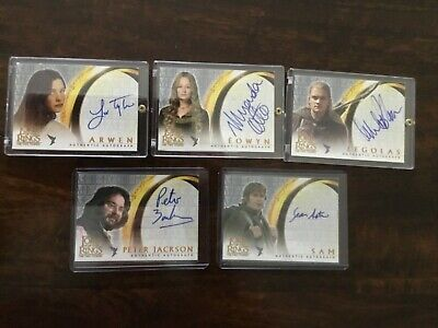 2003 Lord of the Rings LOTR Two Towers AUTO autograph Otto Eowyn
