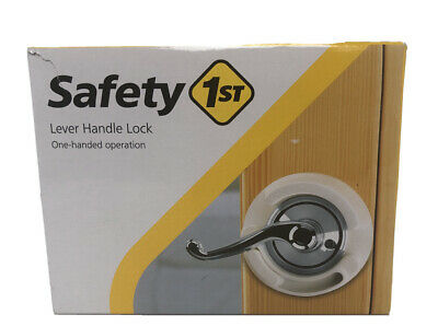 2 Packs Safety 1st French Door Lever Handle Baby Proof Child Locks 48400