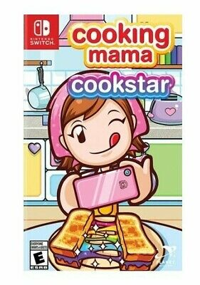 Cooking Mama Cookstar (Nintendo Switch, 2020) Rare! Brand New And IN HAND