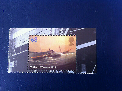 GB 2006 SG2614 Brunel PS Great Western from Prestige Booklet MNH