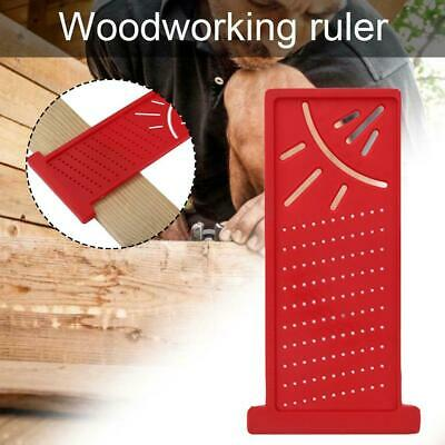 Woodworking Ruler 3D Mitre Angle Measuring Gauge Square Size Measure Tools