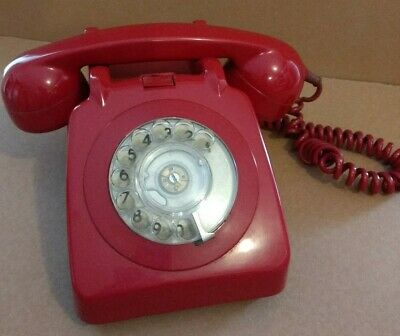 Vintage GPO Series telephone - with rotary dial
