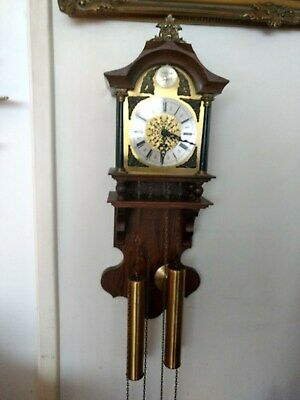 Dutch Wall Clock SBS FEINTRCHNIK