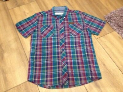 Ben Sherman Multi Check Boys Shirt Aged 5-6 Years (A128)