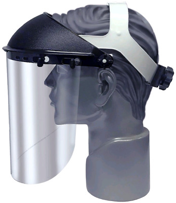 Faceshield Headgear with Ratchet Adjustment (Visor Faceshield Included) **NEW**
