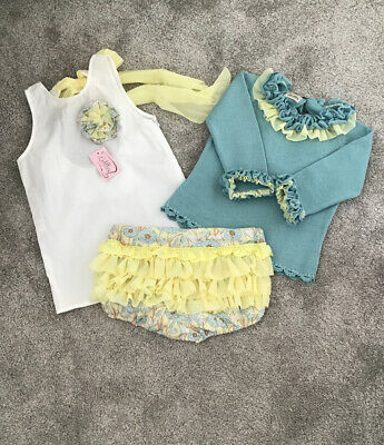 Lolittos Spanish Designer X 3 Piece Set Age 7 New With Tags