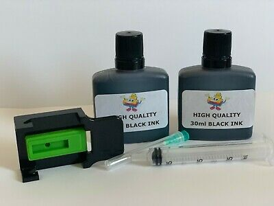Canon Pixma MG3250 Black Ink Refill Kit for PG540 CL541 PG-540 CL-541 - 60ml Ink