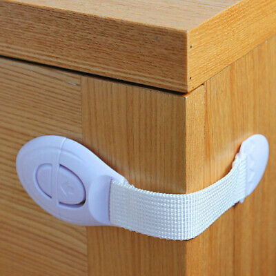 Cupboard Child Safety Locks Drawer Door Baby Toddler Proof Safety Strap Lock