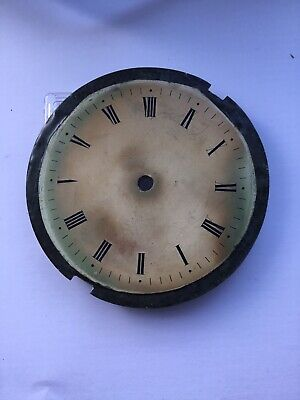 Antique Paper Dial Clock Face