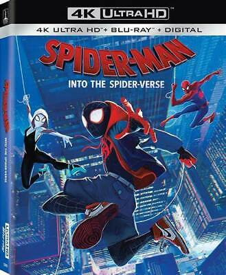 Spider-Man Into the Spider-Verse 4K UHD/BR  2019 + Additional Movies SHIP FREE