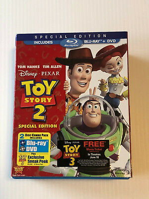 Disney - Toy Story 2   (  Blu Ray + Dvd  ) Special Edition