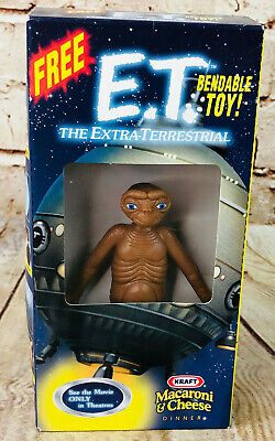 vintage ET EXTRA TERRESTRIAL toy action figure 1986 sci fi friendly alien