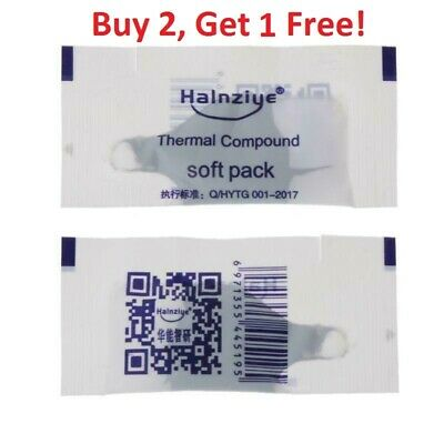 Thermal Grease Paste Silicon Compound CPU Heat Sink Processor Cooling Free S/H