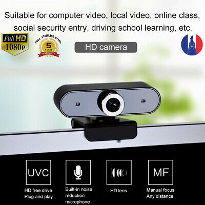 Rotatable HD Webcam PC Digital USB Camera Video Recording with Microphone FR