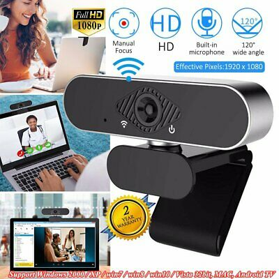 1080P Full HD Webcam Built-in Microphone Computer Accessory USB Web Camera FR