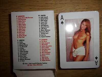 The Sun Page 3 playing cards 52+2 lovely ladies new and sealed.poker,cribbage