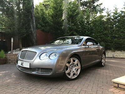 Bentley Continental Gt 6.0 Gt Mulliner Edition Grey