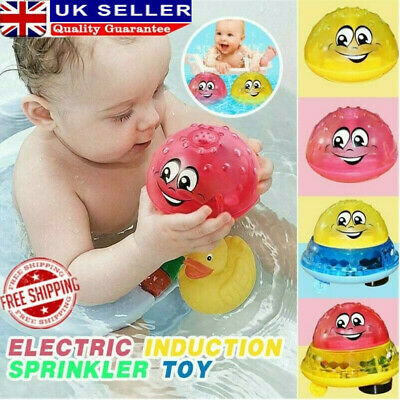 Baby Spray Water Bath Toy Automatic Induction Sprinkler Swimming Pool Toy Funny